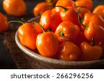 Raw Organic Orange Habanero...