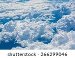blue sky high view from... | Shutterstock . vector #266299046