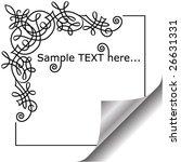 greetings card | Shutterstock .eps vector #26631331