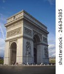 arc of triumph paris | Shutterstock . vector #26634385