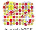 abstract design pattern   Shutterstock . vector #26638147