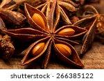 star anise | Shutterstock . vector #266385122
