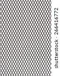 steel grating pattern... | Shutterstock . vector #266416772