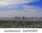 Los Angeles Downtown  Bird\'s...
