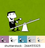 job vacancy. business... | Shutterstock .eps vector #266455325
