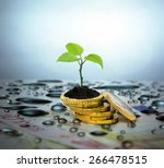 financial planning and... | Shutterstock . vector #266478515