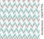 seamless hand drawn geometric... | Shutterstock .eps vector #266479796