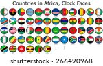 list of countries in africa...   Shutterstock . vector #266490968