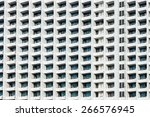 detail of a multistoy. | Shutterstock . vector #266576945