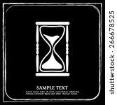 vector illustration of hourglass   Shutterstock .eps vector #266678525