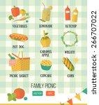 vector illustration family... | Shutterstock .eps vector #266707022