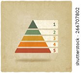 Maslow Colored Pyramid Symbol...
