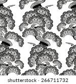 bonsai | Shutterstock .eps vector #266711732