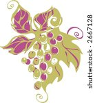 grape  logo | Shutterstock .eps vector #2667128