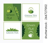 collection of vector... | Shutterstock .eps vector #266727002
