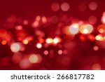Red Tone Blur Bokeh Light....