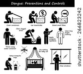 dengue fever preventions and... | Shutterstock . vector #266823242