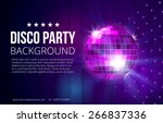 disco party background. ball ...