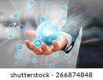 social media concept. | Shutterstock . vector #266874848