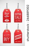 sale tag set | Shutterstock .eps vector #266889302