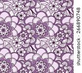 cork background of flowers ...   Shutterstock .eps vector #266890748