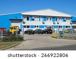 warehouse building with offices   Shutterstock . vector #266922806