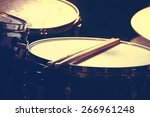 drums conceptual image. picture ... | Shutterstock . vector #266961248