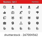 business icons. professional ... | Shutterstock .eps vector #267004562