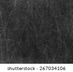 scratched glass surface. black... | Shutterstock . vector #267034106