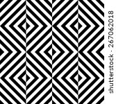 seamless square pattern. black... | Shutterstock .eps vector #267062018