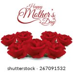 happy mothers day card design ... | Shutterstock .eps vector #267091532