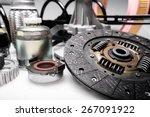 car  bearing  detail. | Shutterstock . vector #267091922