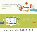 vector illustration. flat study ...   Shutterstock .eps vector #267111212