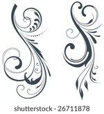vectorized scroll design.... | Shutterstock .eps vector #26711878