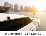 Yacht On Huangpu River With...
