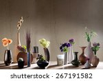 decorative vases | Shutterstock . vector #267191582