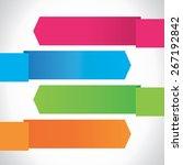 fresh modern design business... | Shutterstock . vector #267192842