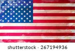 flag of united states of america | Shutterstock . vector #267194936