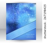 corporate identity design... | Shutterstock .eps vector #267198425