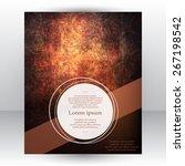 corporate identity design... | Shutterstock .eps vector #267198542
