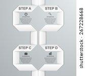 modern infographic option... | Shutterstock .eps vector #267228668