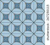 vector geometric seamless... | Shutterstock .eps vector #267250115