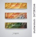 business design templates. set... | Shutterstock .eps vector #267283166