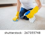 people  housework and... | Shutterstock . vector #267355748