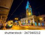 san francisco vintage f ... | Shutterstock . vector #267360212