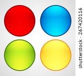 web buttons set   Shutterstock .eps vector #267420116