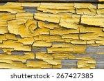 Indoor Macro Shot Of Wooden...