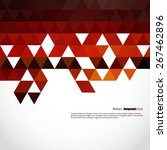 abstract  geometric background... | Shutterstock .eps vector #267462896