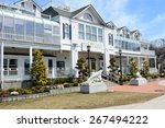 port jefferson  ny   april 6 ...   Shutterstock . vector #267494222