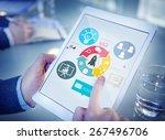 innovation start up success... | Shutterstock . vector #267496706